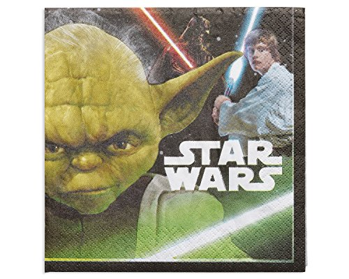 American Greetings Star Wars Lunch Napkins (16 Count)]()