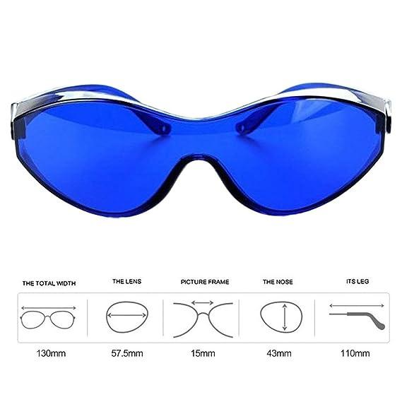 Azul Gafas IPL para IPL Beauty Operator Safety Protective E Light Laser Color Light Gafas de seguridad 200-1200nm