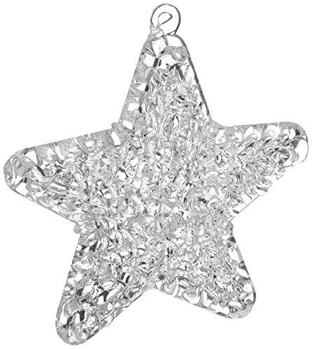 Spun Glass Ornament - Demdaco 2020150788 Spun Glass Star Ornament