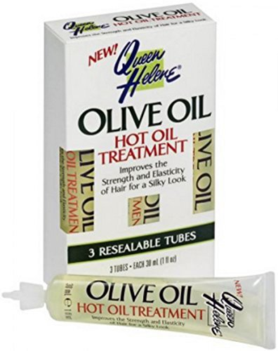 Queen Helene Hot Oil Treatment, Olive Oil, 3-1 Ounce [Packaging May Vary] - Olive Oil Beauty Treatments