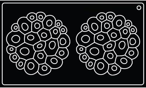 Pavoni Silikonform für Top Coral TOP09: : Küche