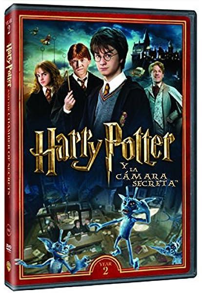 Harry Potter Y La Cámara Secreta. Nueva Carátula DVD: Amazon.es ...
