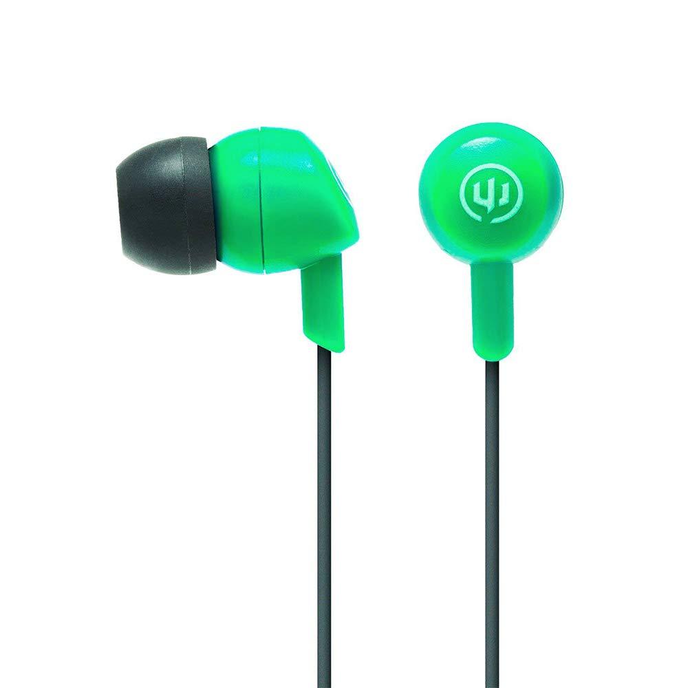 Wicked Audio Brawl Earbud Headphones, (Real Teal)