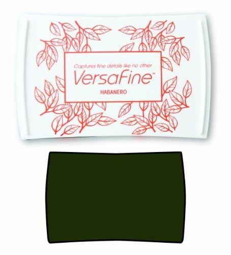 Tsukineko Versafine Ink Pad, Olympia Green by Imagine Crafts
