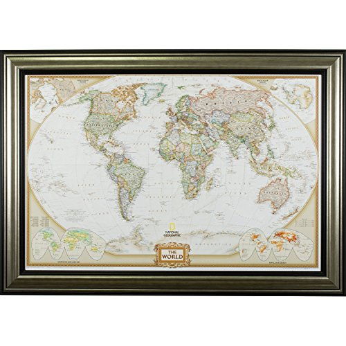 Silver Antique Map - 1