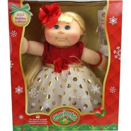 Cabbage Patch Kids 2017 Holiday Edition ( Blonde Hair (Cabbage Patch Birth Certificate)