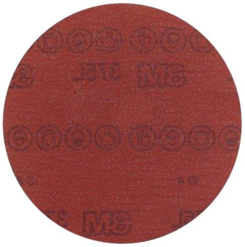 3M Hookit Film Disc 375L Pack of 50 P1000 Grade 5 Diameter Aluminum Oxide