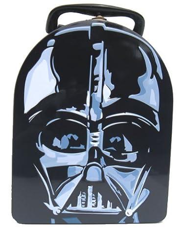 Star Wars Darth Vader Metal Boys Tin Lunch Box (The Tin Box Company Small)