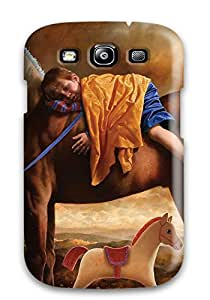New Premium UptonHolliss Boy On Horse Skin Case Cover Excellent Fitted For Galaxy S3