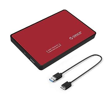 ORICO - Carcasa para Disco Duro SATA HDD SSD de 2,5