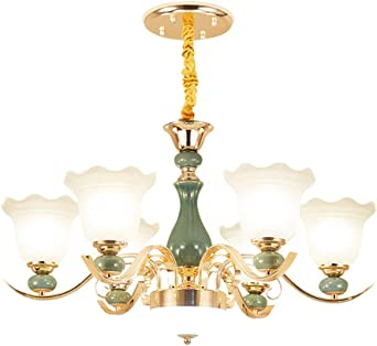 Modern Luxurious ceramic Chandelier Candle ceramic Pendant