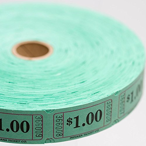Muncie Novelty Company Inc. Green $1.00 Ticket Roll ()