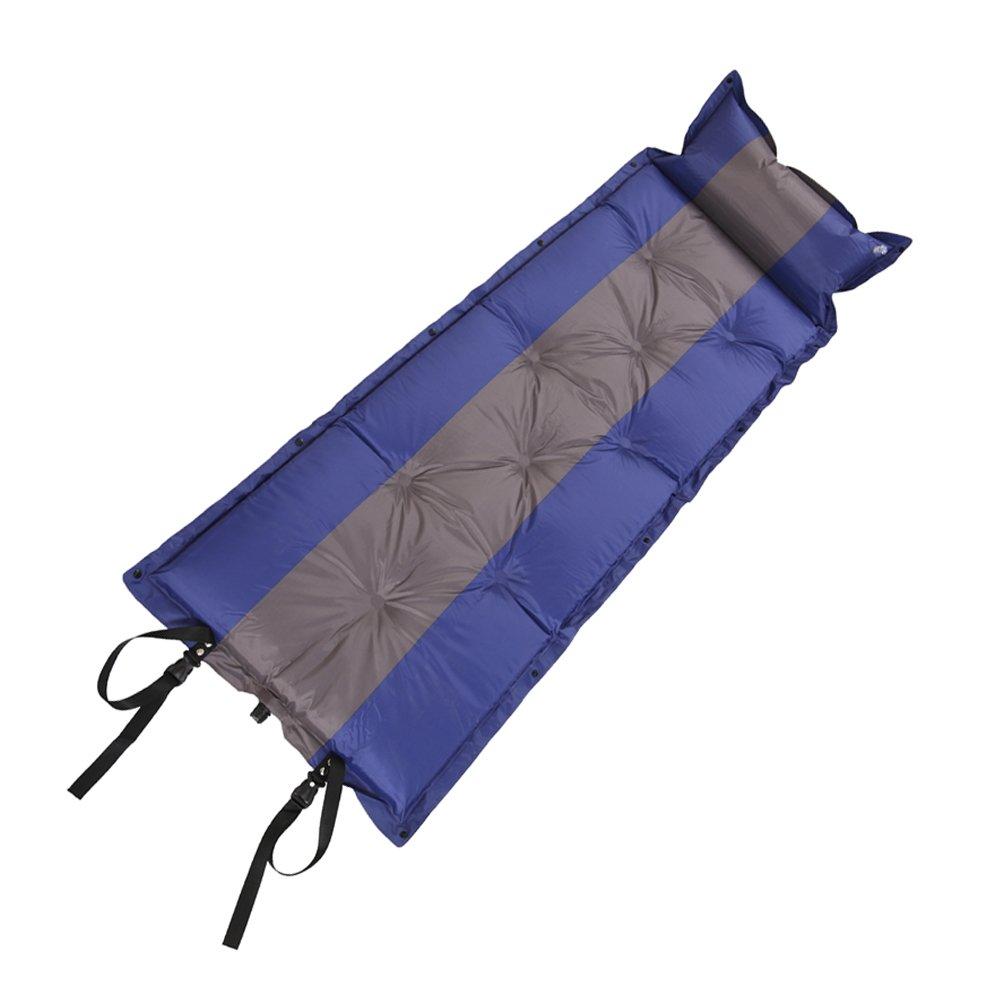 azlifeポータブルSelf Inflating Sleeping Pad Airマットレスのバックパッキング、ハイキングキャンピング B01MT11JJY Dark Blue and Grey Dark Blue and Grey