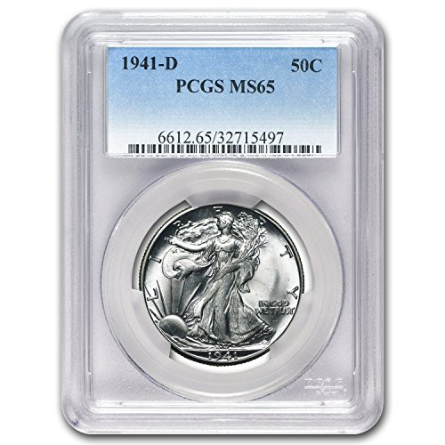 1941 D Walking Liberty Half Dollar MS-65 PCGS Half Dollar MS-65 PCGS