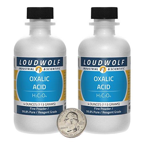 Oxalic Acid/Fine Powder / 8 Ounces