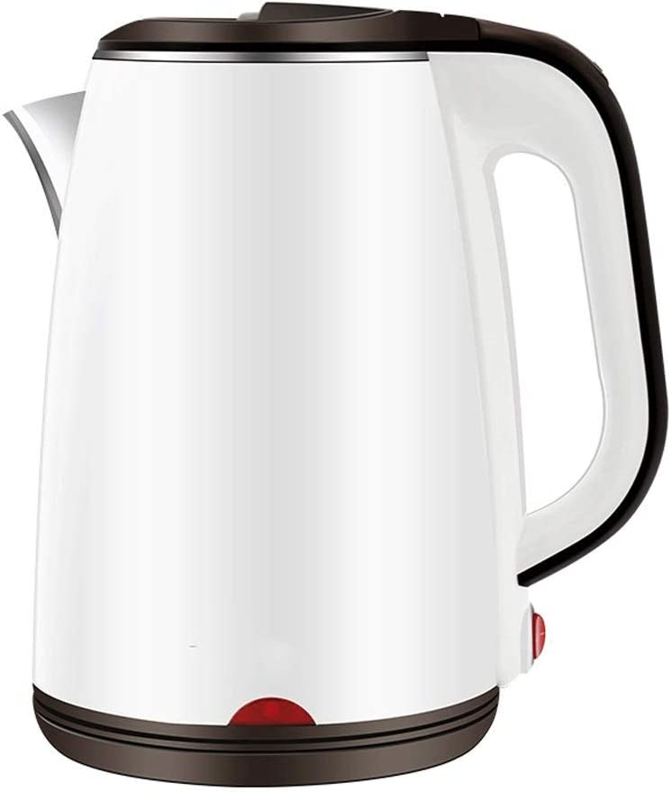 ZSQHD Electric Kettle(BPA Free), 1.8 Double Wall Stainless