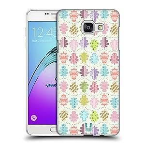 Head Case Designs Swirly Pinnate Leafy Doodles Hard Back Case for Samsung Galaxy A7 (2016)