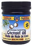 omega organic coconut oil - Omega Nutrition Coconut Oil, 454-Grams
