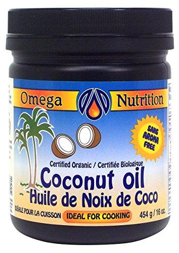 - Omega Nutrition Coconut Oil, 454-Grams