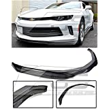 Extreme Online Store for 2016-Present Chevrolet Camaro RS | EOS T6 Style Carbon Fiber Add On Front Bumper Lower Lip Splitter