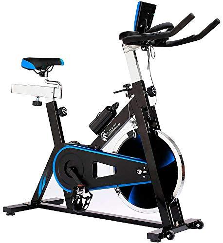 CENTURFIT Bicicleta 18kg Fija Spinning Fitness Indoor Gimnasio Estática Excelente Calidad Profesional Uso Rudo Disco Rued
