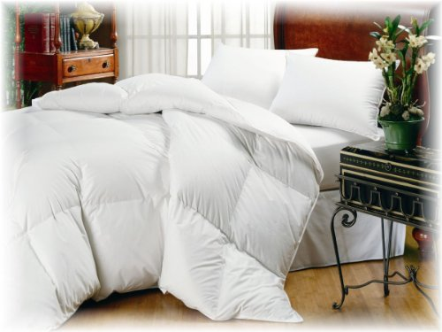 Organic Comfort Down Alternative Comforter. King Light