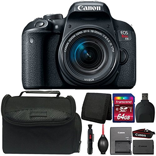 Canon EOS Rebel T7i 24.2MP Digital SLR Camera with 18-55mm IS STM Lens and Accessory Kit For Sale
