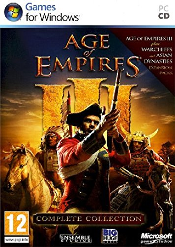 Age of Empires III Complete Collection PC DVD Importación inglesa