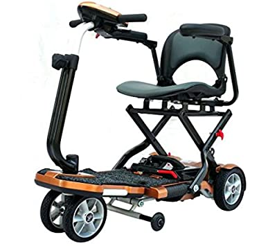 EV Rider TransportFolding Mobility Scooter w,Arm Rests, Upgraded 12V15Ah Long Range Batteries & 3 COLOR CHOICES!