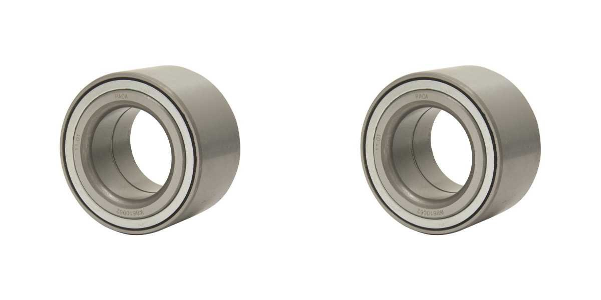 Prime Choice Auto Parts WB610062PR Pair of 2 Front Wheel Bearings