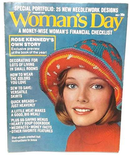 (February 1974, Woman's Day Magazine, Vintage Magazine Back Issue)
