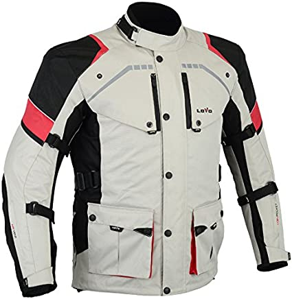 MBS MJ21 James Motocicleta Motocicleta larga chaqueta de viaje textil antracita, 5XL