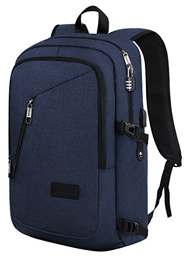Travel Outdoor Computer Backpack Laptop bag 15.6''(blue) - 3