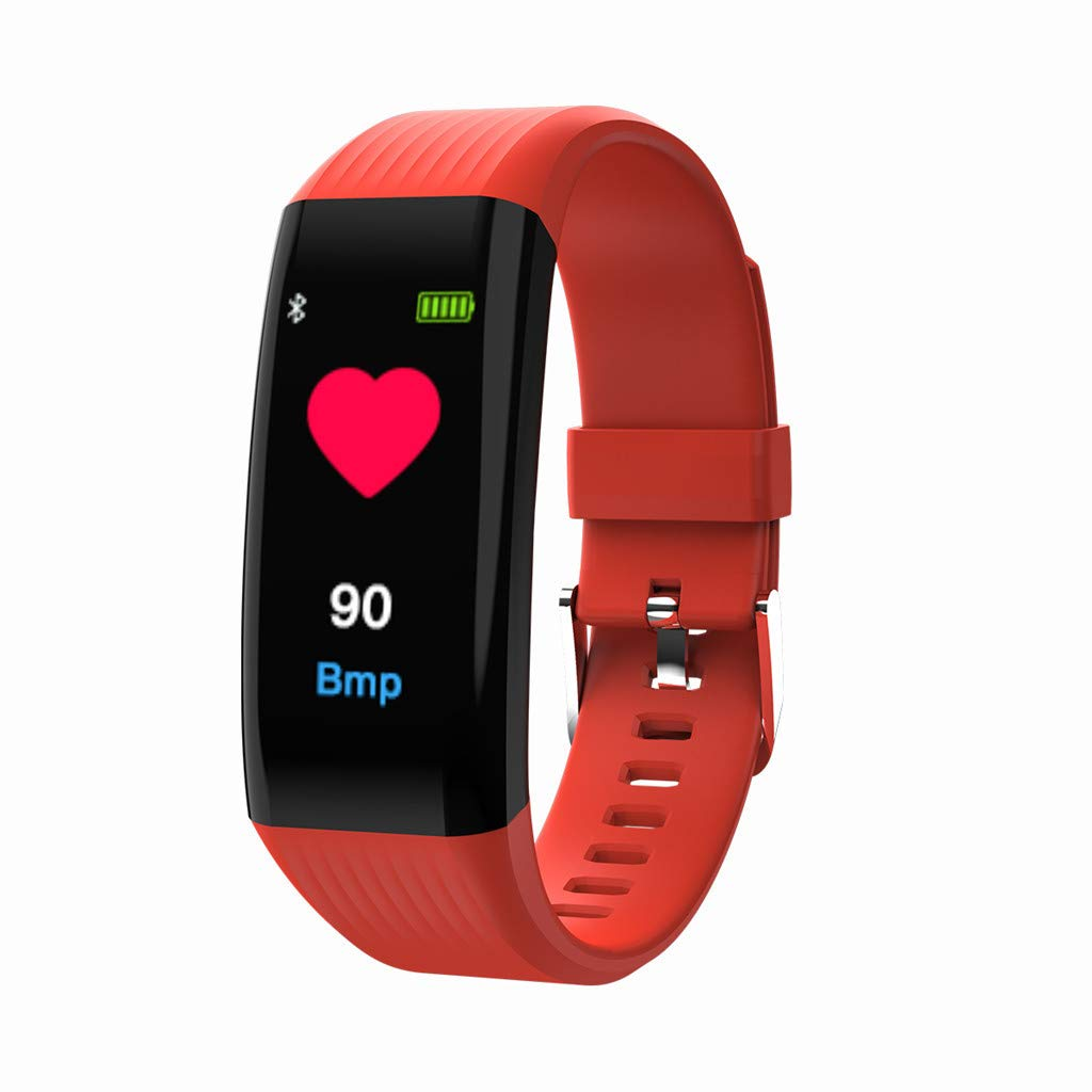 Amazon.com: TLT Retail Smartwatch Heart Rate Activity Step ...