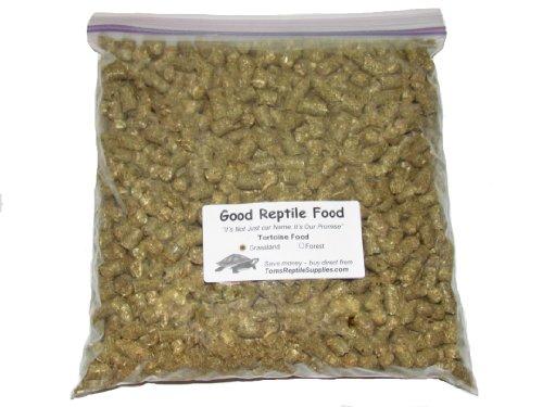 Leopard Tortoise Food (Good Reptile Food Grassland Tortoise Food Bulk 3 Lbs.)