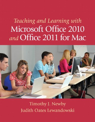 Teaching and Learning with Microsoft Office 2010 and Office 2011 for Mac Pdf