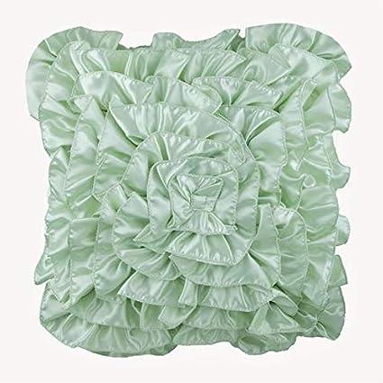 Mint Green Throw Pillows Cover, Contemporary Solid Pillow Covers, Throw  Pillow Covers 12\