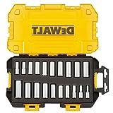 DEWALT DWMT73812 Tool Kit 3/8'' Drive Deep Socket Set, 20 Piece