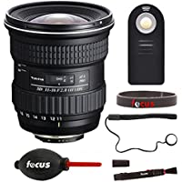 Tokina 11-16mm f/2.8 AT-X 116 PRO DX-II Lens for Canon EF w/Focus Accessories