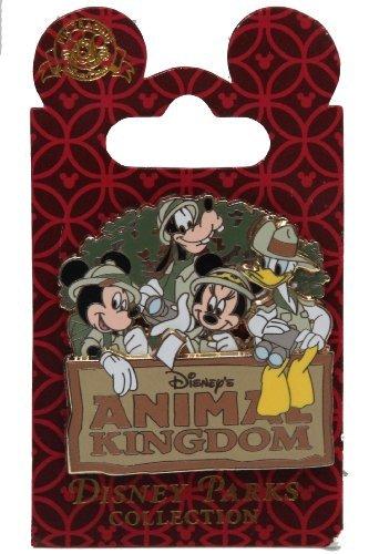 Disney Pin - WDW Animal Kingdom Theme Park - Mickey and Friends - 82178