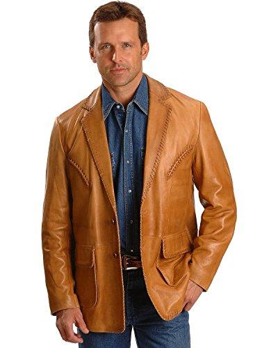 Leather Sport Coat - 9