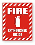 1-Pcs Prime Popular Fire Extinguisher Inside Car Sticker Review and Comparison