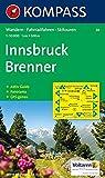 Carta escursionistica n. 36. Austria. Tirolo... Innsbruck, Brenner 1:50.000. Con carta panoramica. Adatto a GPS. Digital map. DVD-ROM. Ediz. bilingue: Wandelkaart 1:50 000 (Carte de Randon)
