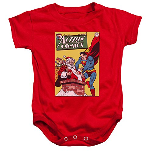 Infant: Superman- Action Comics 105 Cover Onesie Infant Onesie 1 x 1in (Superman Adult Onesie)