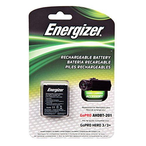 Energizer ENV-GP3 Digital Replacement Battery for GoPro AHDBT-201 (Black)