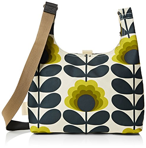 Orla Kiely Summer Flower Stem Midi Sling Bag, Sunshine by Orla Kiely