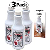 3 PACK Pro Shot Industrial Re-Newing Floor Restorer And Finish (96 oz. - 32 oz. each Bottle) Petrochemical-Free Formula - With a Bonus Application Instructions Brochure