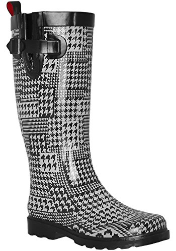 Combo Ladies Shiny Tall Boots York Rubber Capelli New Rain White TAxqZZ4