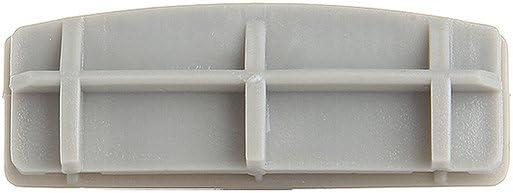 cciyu 9mm Fasteners Car Clips Pushtype Bumper Fastener Rivet 55157055-AA Nylon White,50Pack