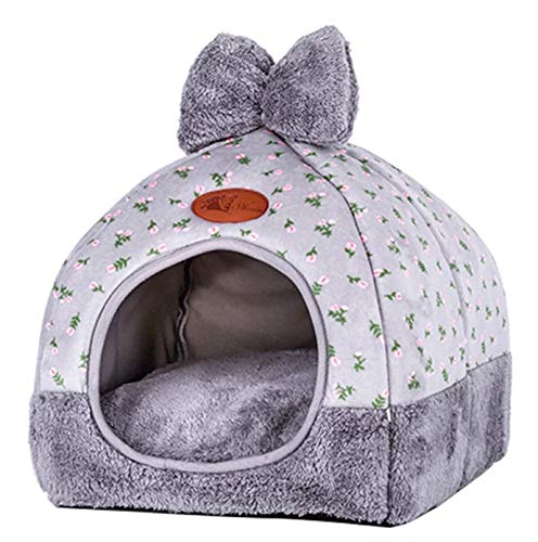 Cat House House Closed Folding cat Villa Teddy pet Supplies New yurt Doghouse Autumn and Winter Supplies